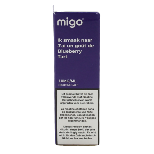 Blueberry Tart (Nic Salt) - Migo