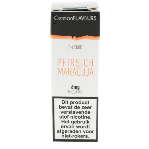 Pfirsich Maracuja - German Flavours