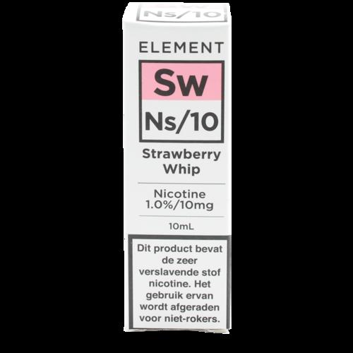 Strawberry Whip (Nic Salt) - Element e-Liquids