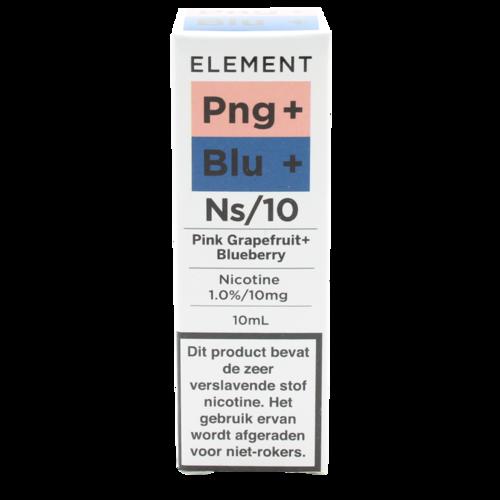 Pink Grapefruit + Blueberry (Nic Salt) - Element e-Liquids