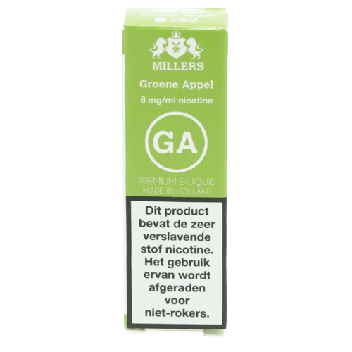 Grüner Apfel - Millers Juice