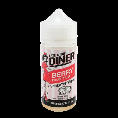 Berry Fruit Tart - Late Night Diner (Shortfill) (Shake & Vape 50ml)