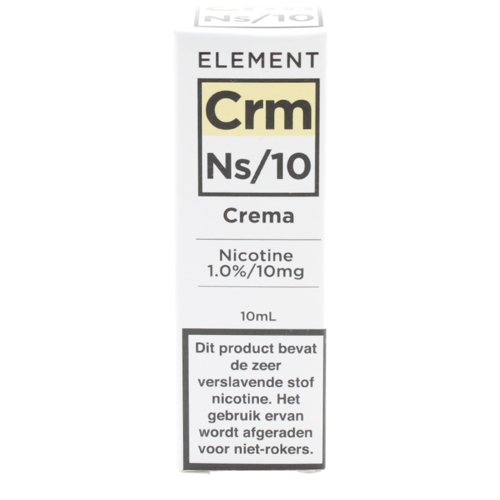 Crema (Nic Salt) - Element e-Liquids