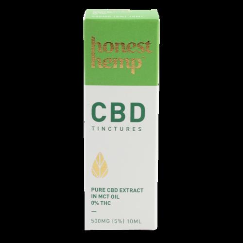 CBD Tinctures - Honest Hemp (MCT CBD Öl)