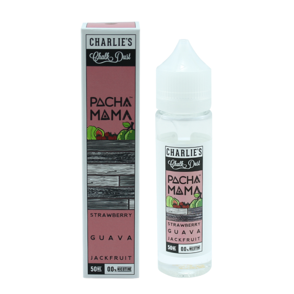 Strawberry, Guava, Jackfruit - Pachamama (Shake & Vape 50ml)