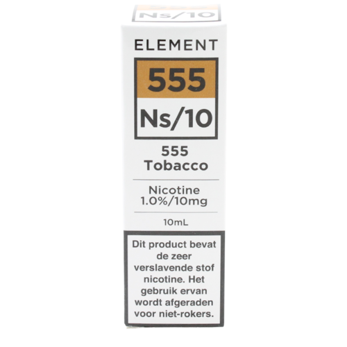 555 Tobacco (Nic Salt) - Element e-Liquids