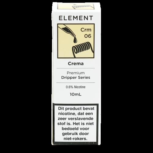 Crema - Element e-Liquids DRIPPER Series