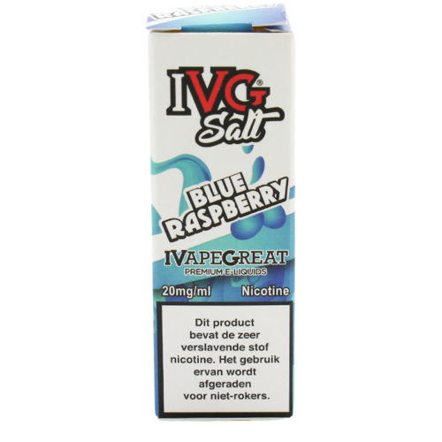 Blue Raspberry (Nic Salt) - IVG