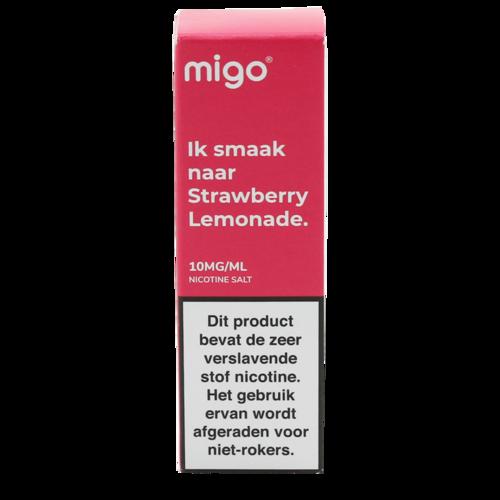Strawberry Lemonade (MHD) (Nic Salt) - Migo