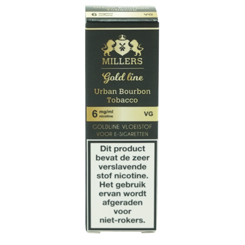 Urban Bourbon Tobacco 100VG - Millers Juice