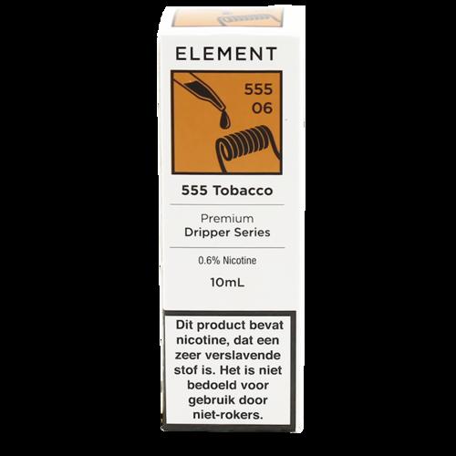 555 Tobacco - Element e-Liquids DRIPPER Series