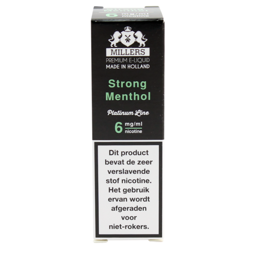 Strong Menthol - Millers Juice