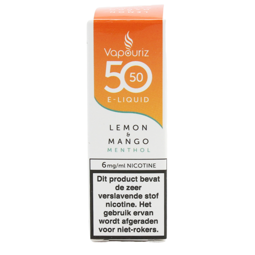 Lemon & Mango Menthol - Vapouriz