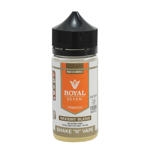 Woodsy Blend - Royal Seven (Shortfill) (Shake & Vape 50ml)