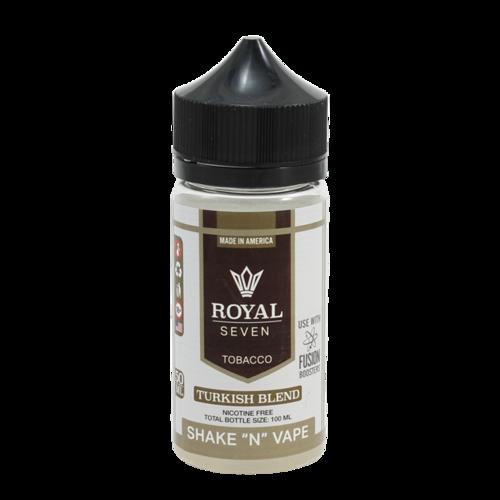 Turkish Blend - Royal Seven (Shortfill) (Shake & Vape 50ml)