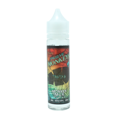 Tropika - Twelve Monkeys (Shortfill) (Shake & Vape 50ml)