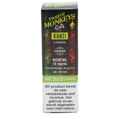 Kanzi (Nic Salt) - Twelve Monkeys