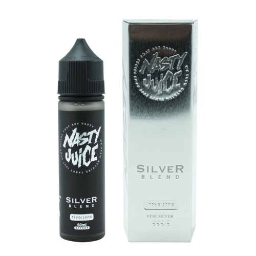 Nasty Silver Blend - Tobacco (Shake & Vape 50ml)